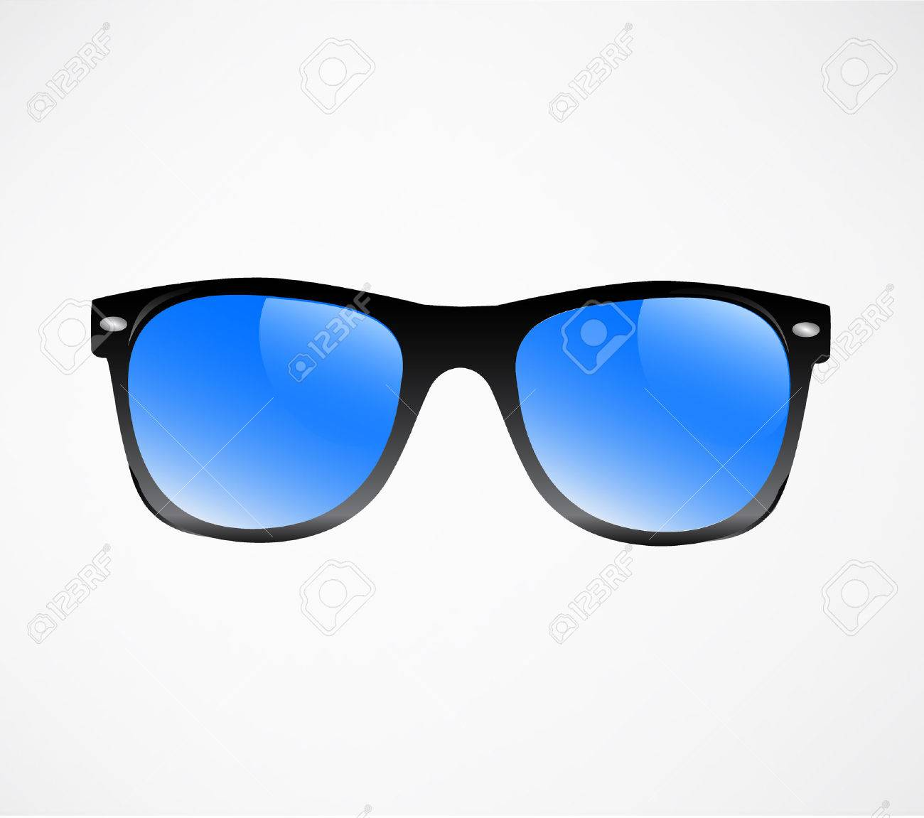 Sunglasses illustration background - 31104844