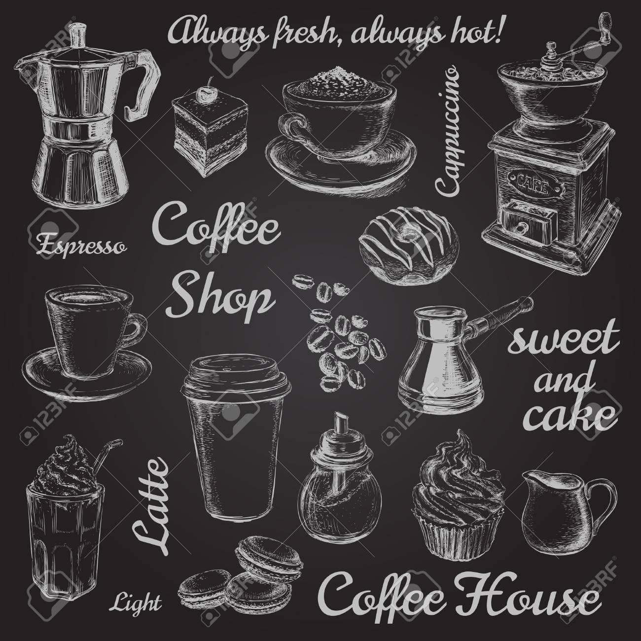 Coffee illustration - 53274697