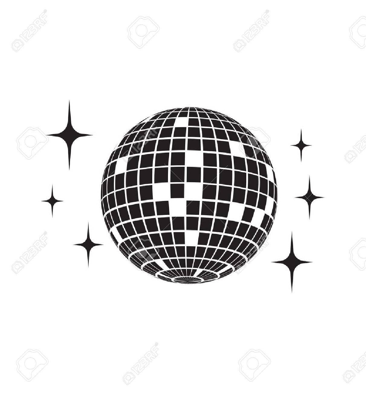 Disco ball Vector icon - 68352595
