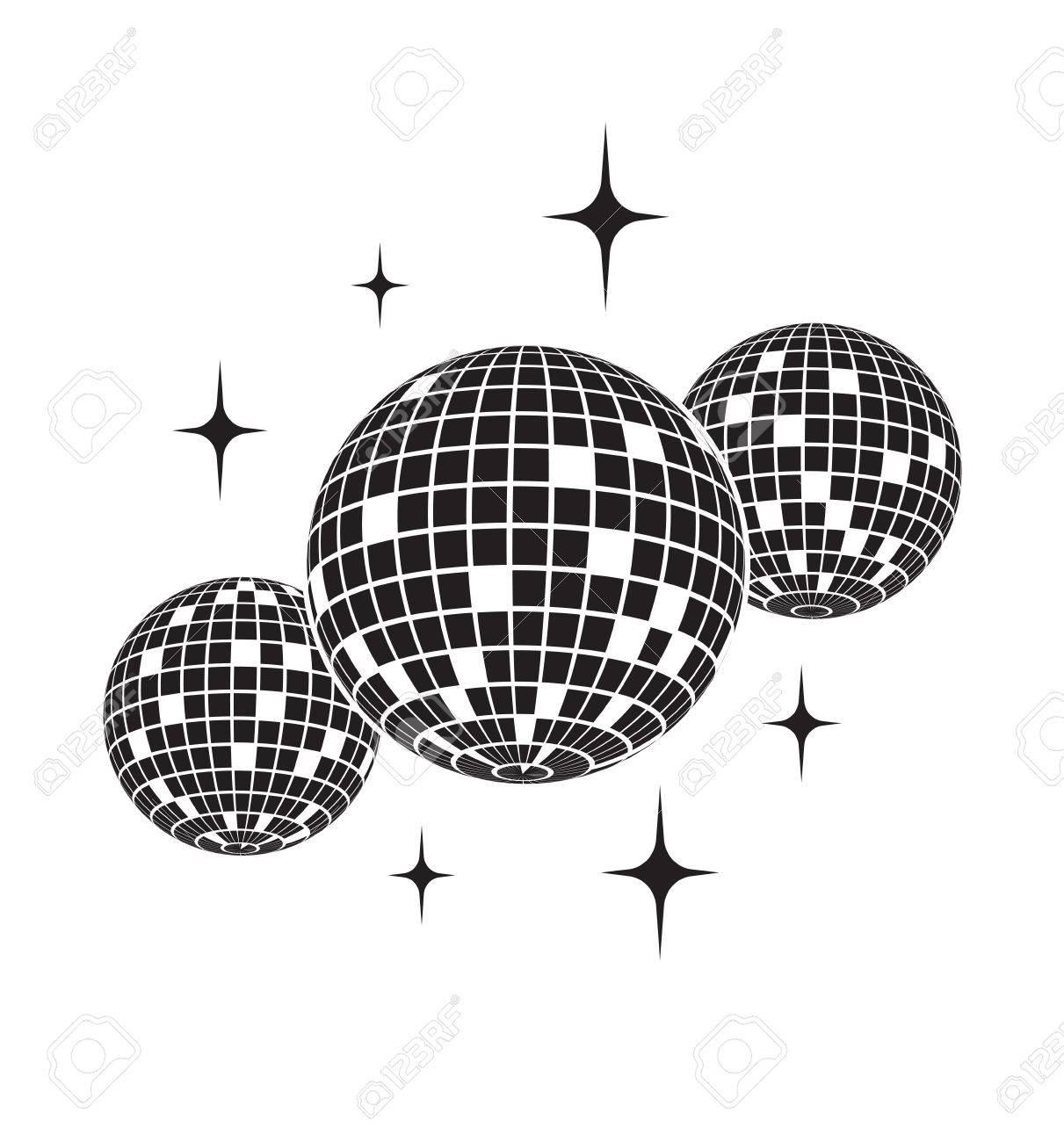 Disco ball Vector icon - 73104776