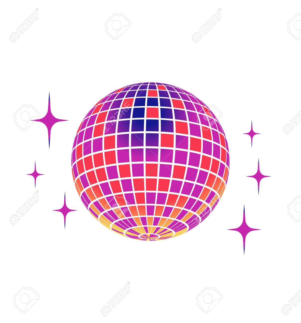 disco ball vector icon royalty free cliparts vectors and stock rh 123rf com disco ball vetor disco ball vector free