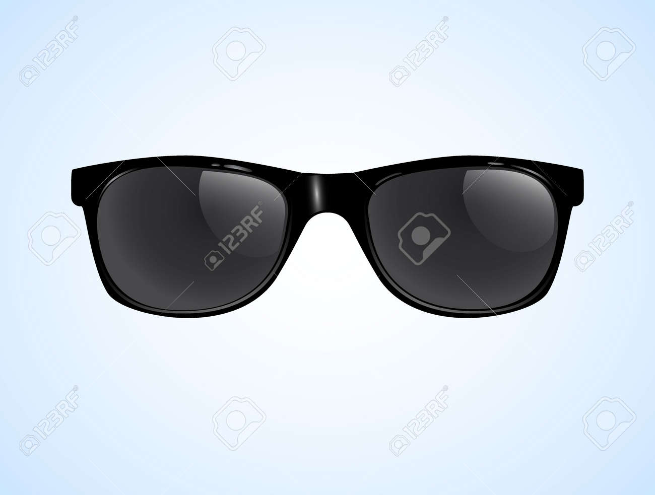 Sunglasses Vector Isolated illustration background. Sunglasses Vector Isolated illustration background - 173035247