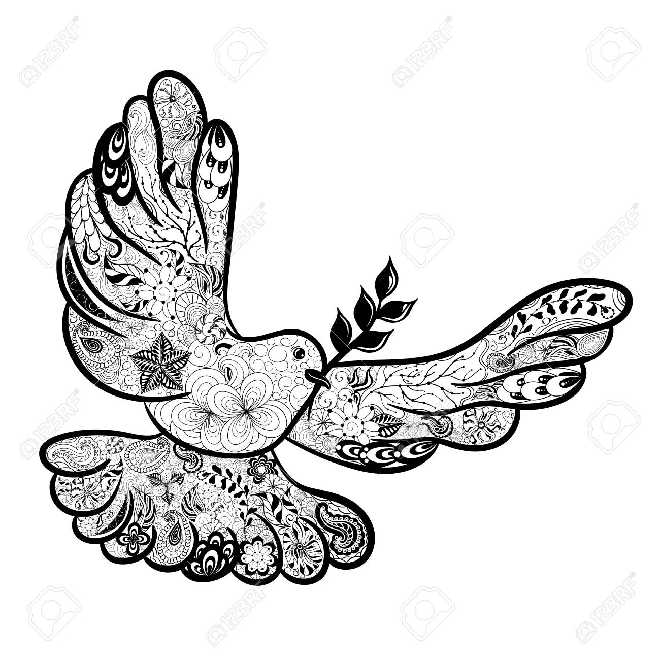 Pace Bianco E Nero illustration