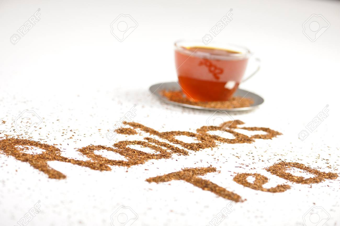 Antioxidant rich healthy herbal tea from the Western Cape region in South Africa. Stock Photo - 7867523