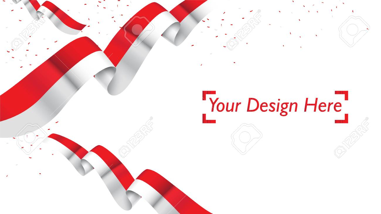 Indonesian Patriotic Background Template With Empty Space For.. Royalty  Free Cliparts, Vectors, And Stock Illustration. Image 120645119.