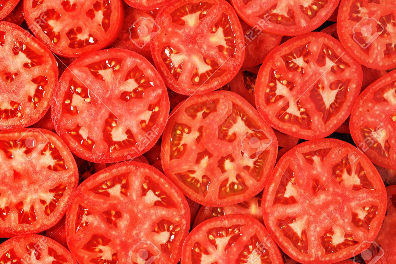 sliced tomatoes background stock photo picture and royalty free