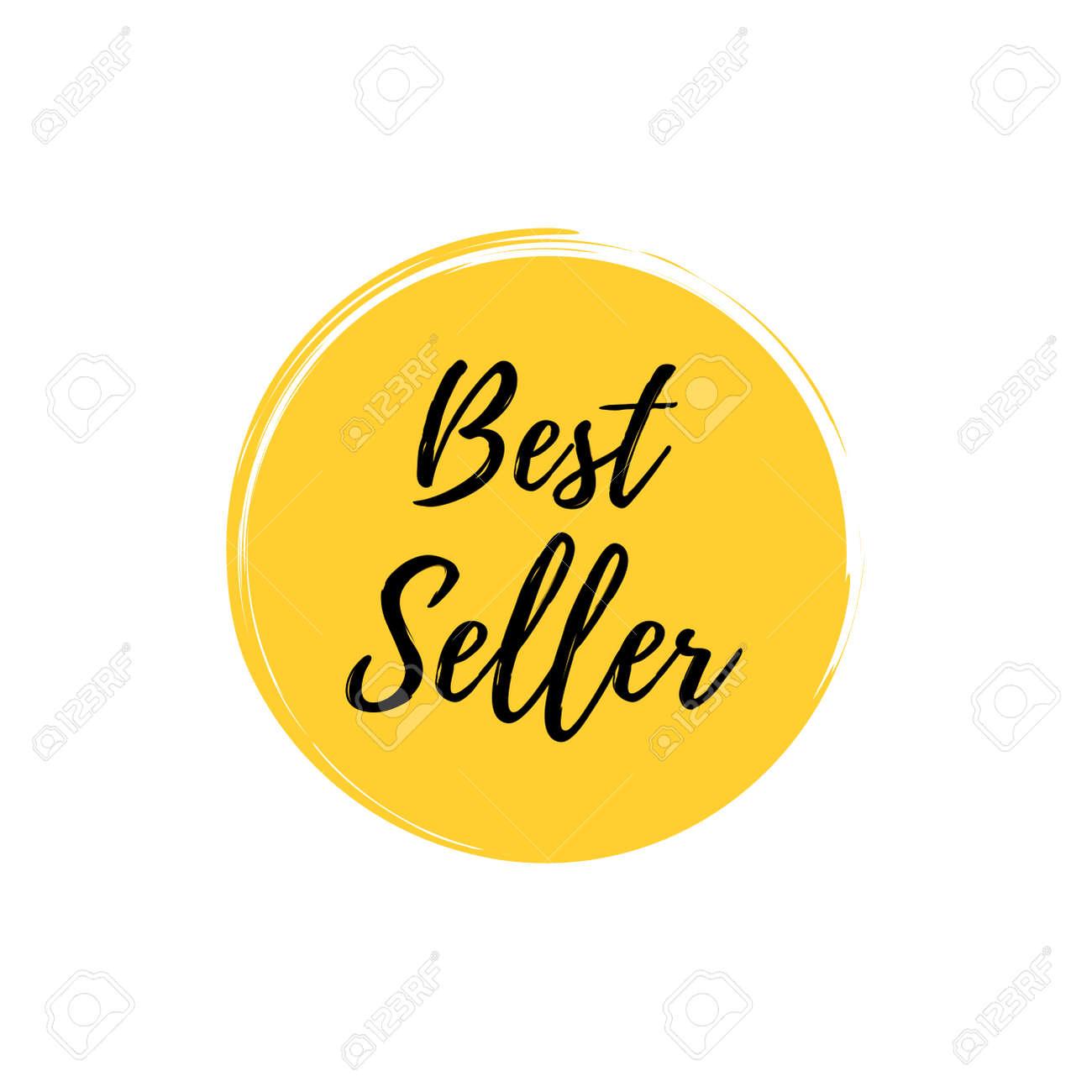 Best seller stamp on white background. - 168544088