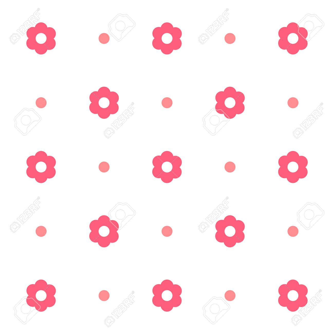 Flowers abstract pattern. Floral background - 168543778