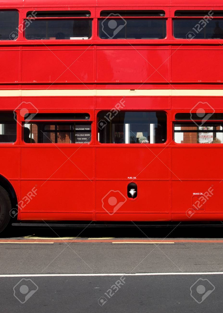 British vintage red Stock Photo - 3423906