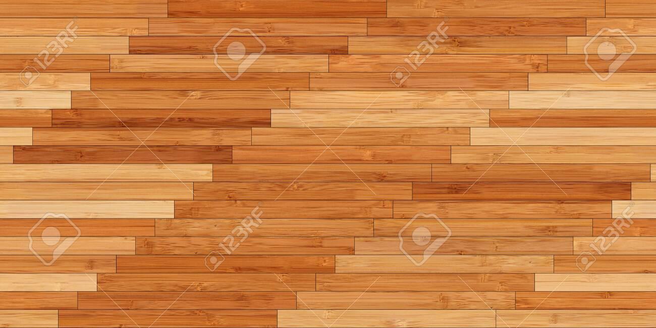 Seamless wood parquet texture (linear light brown) - 122652959
