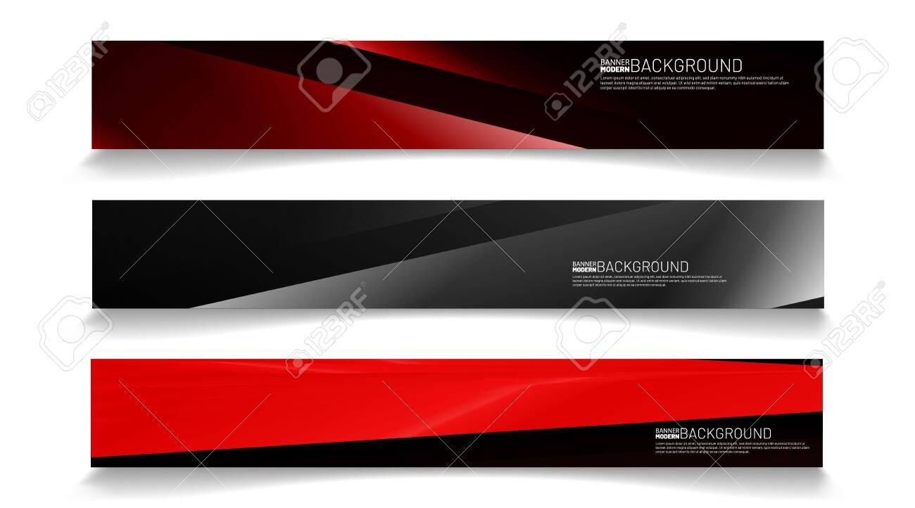 Modern web banner background. abstract vector template design. light effect illustration - 140810718