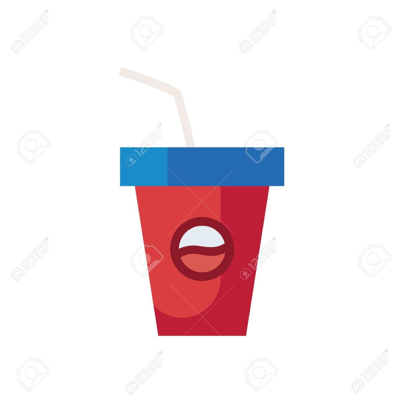 Drink Mug Fill Style Icon Design Beverage Liquid Menu Restaurant Lunch Refreshment Kitchen And Meal Theme Vector Illustration Ilustraciones Vectoriales Clip Art Vectorizado Libre De Derechos Image 142741762
