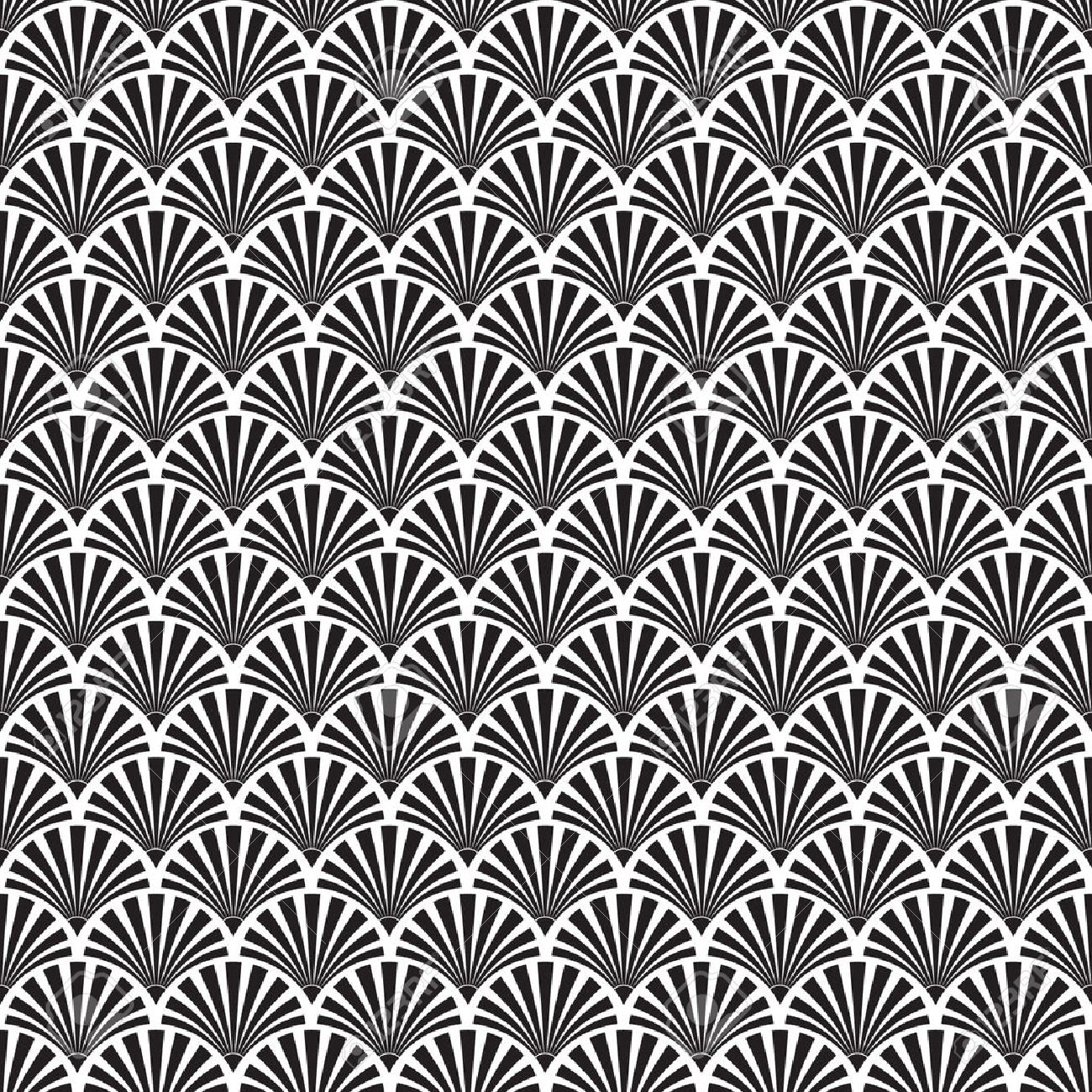 Seamless Art Deco Texture Royalty Free Cliparts, Vectors, And Stock ...