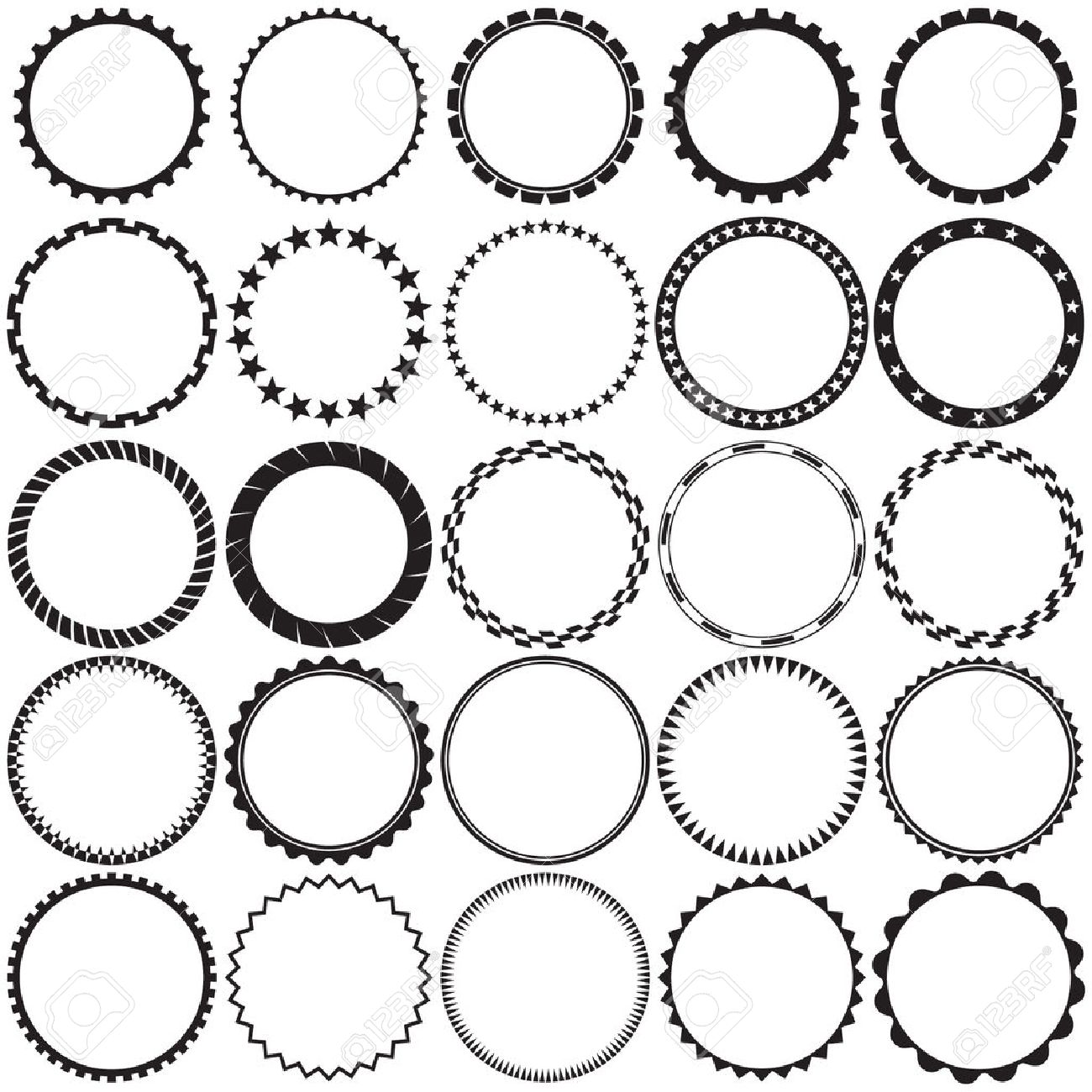 Circle clipart round frame - Pencil and in color circle clipart ...