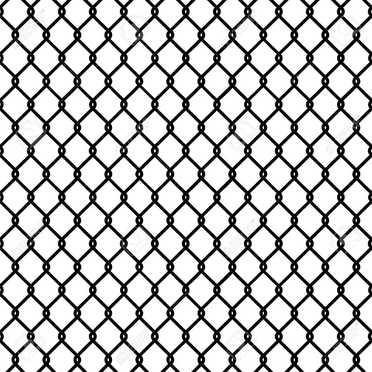 chain link fence texture seamless. Seamless Chain Link Fence Pattern Texture Wallpaper Stock Vector - 56263913