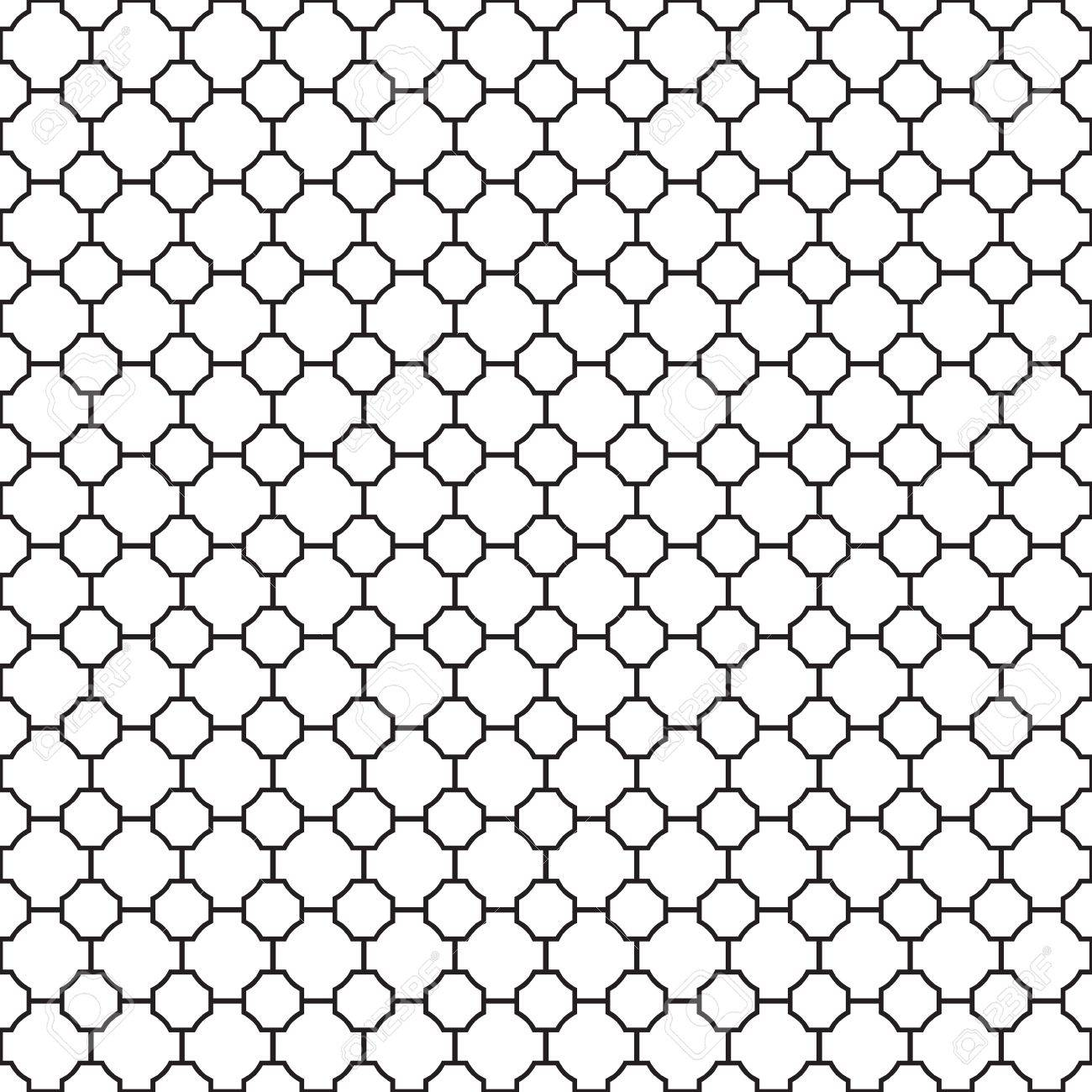 Seamless Geometric Trellis Pattern Texture Background Wallpaper Stock Vector