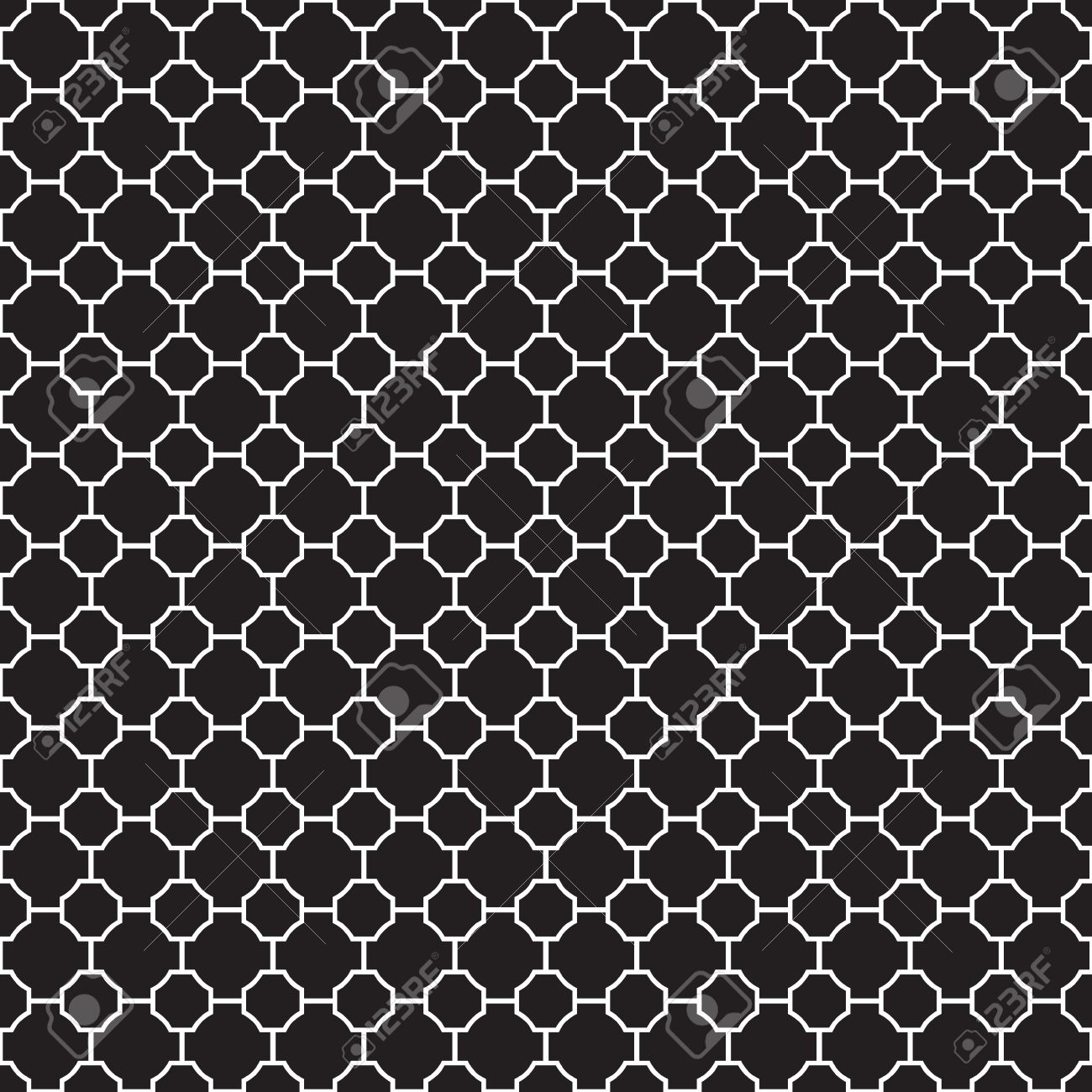 Seamless Geometric Trellis Pattern Texture Background Wallpaper Stock Vector