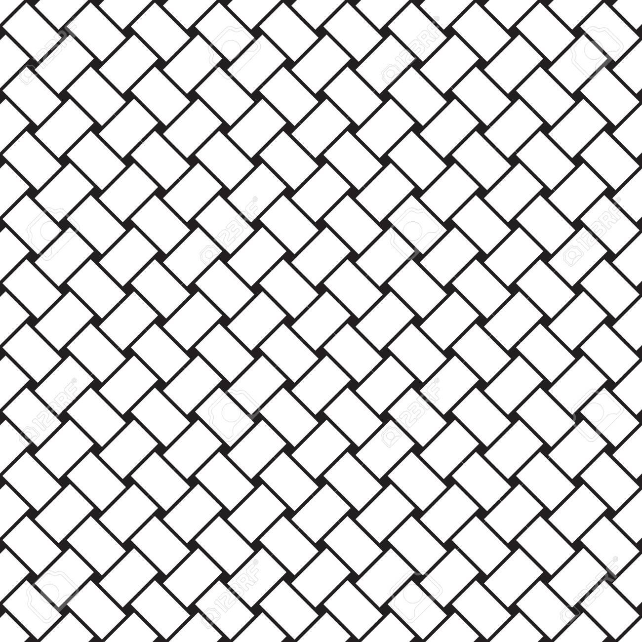 Un Patrón De Tejido Vector Inconsútil Ilustraciones Vectoriales ...