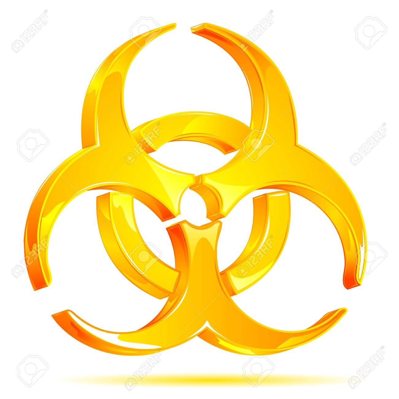 Illustration of glossy biohazard symbol on white background illustration of glossy biohazard symbol on white background stock vector 9167315 biocorpaavc Image collections
