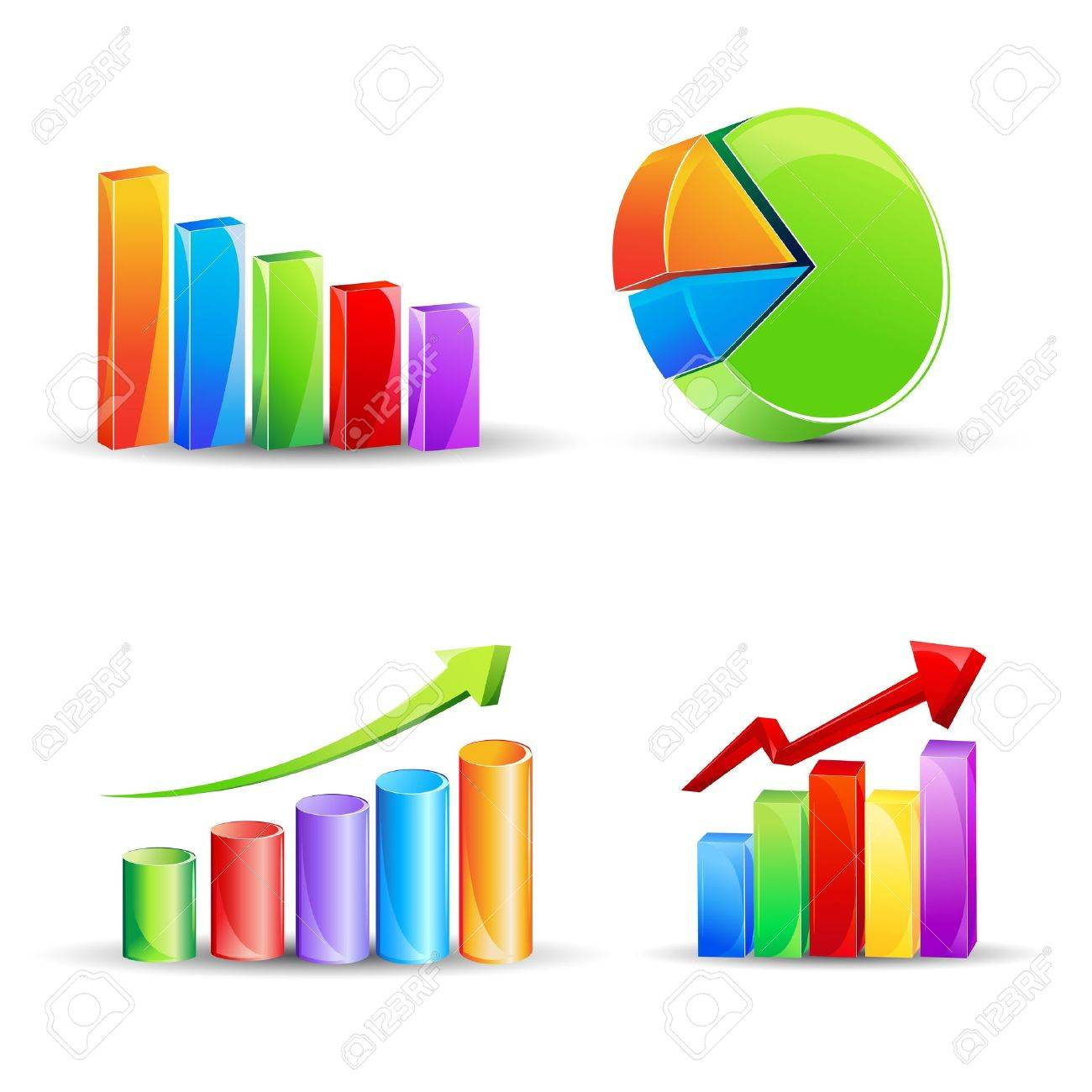 Illustration of different bar graph and pie chart royalty free illustration of different bar graph and pie chart stock vector 11275753 nvjuhfo Image collections