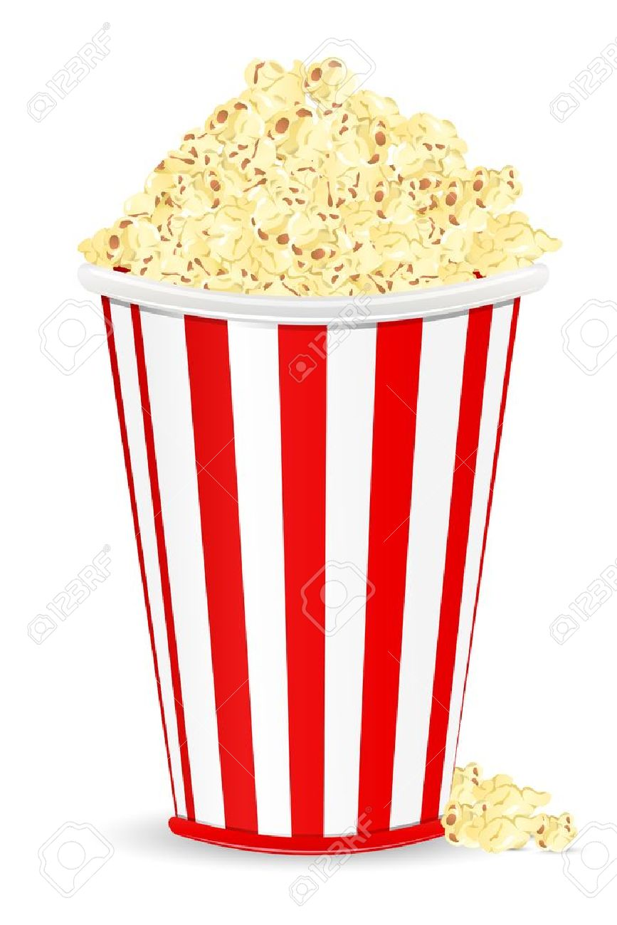 18 855 popcorn cliparts stock vector and royalty free popcorn rh 123rf com free popcorn border clip art popcorn images free clipart