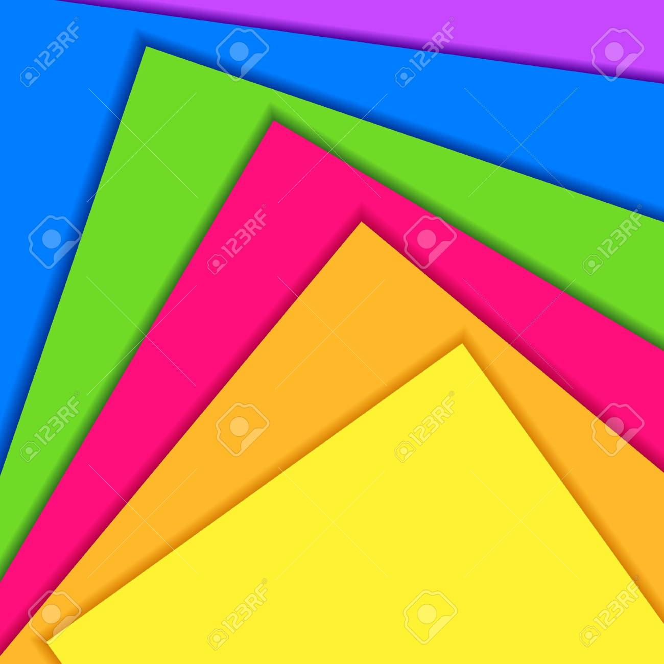 illustration of colorful paper in abstract background Stock Vector - 12492922