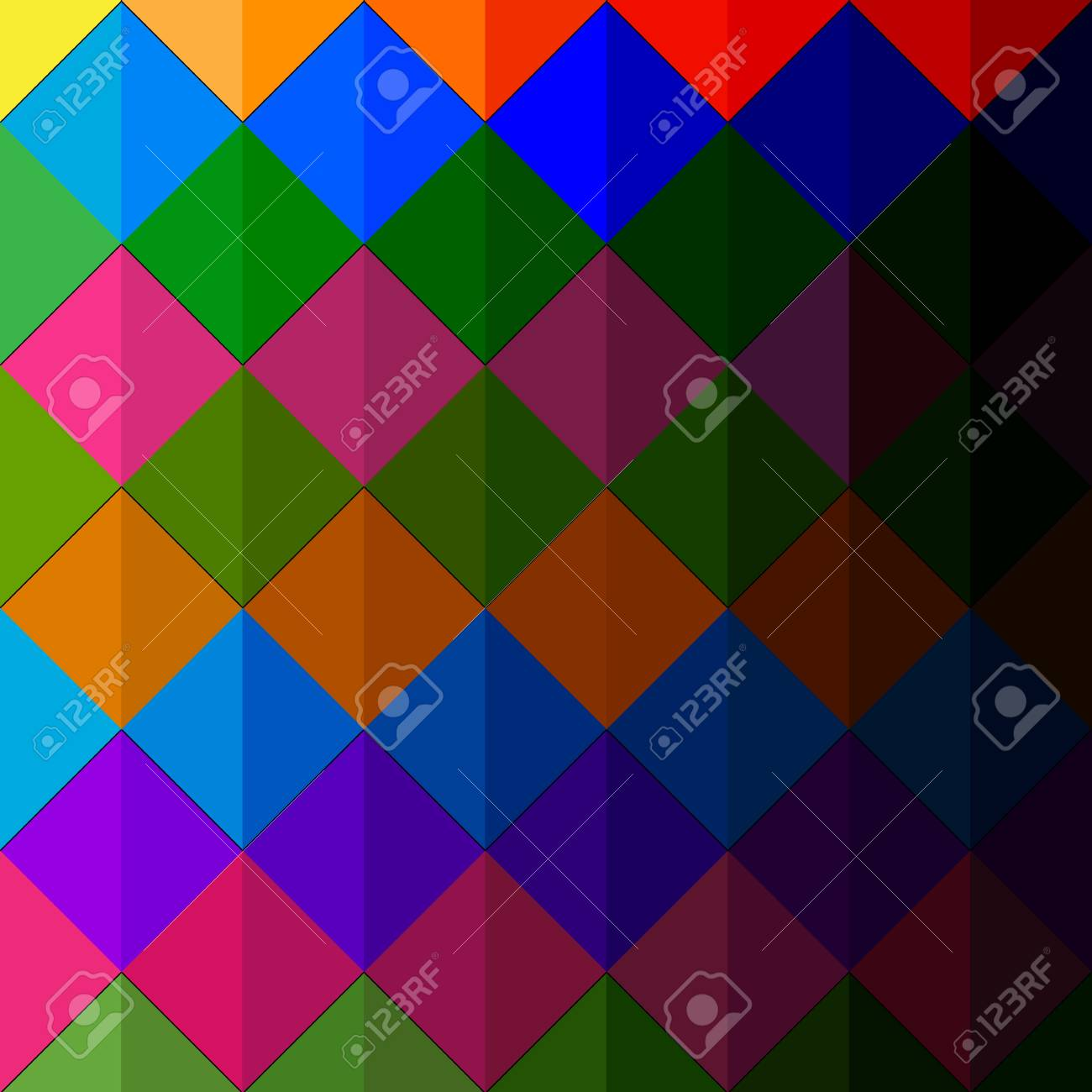 illustration of colorful pattern in abstract background Stock Vector - 12493005