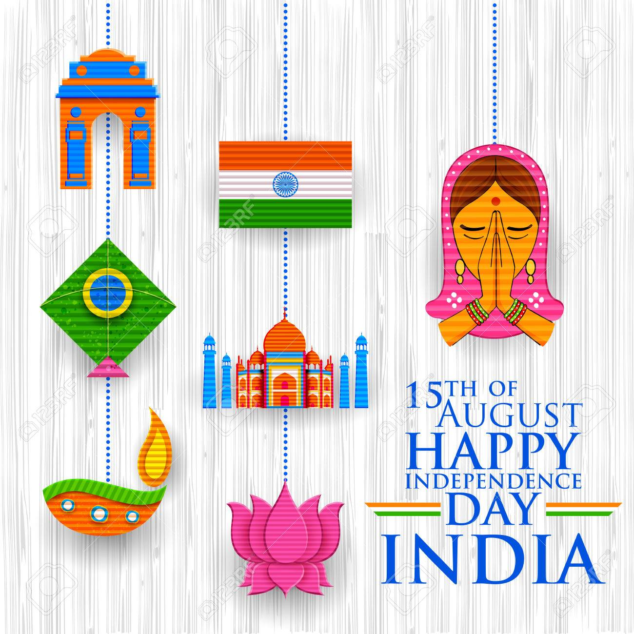 Happy Independence Banners Foundation Banners