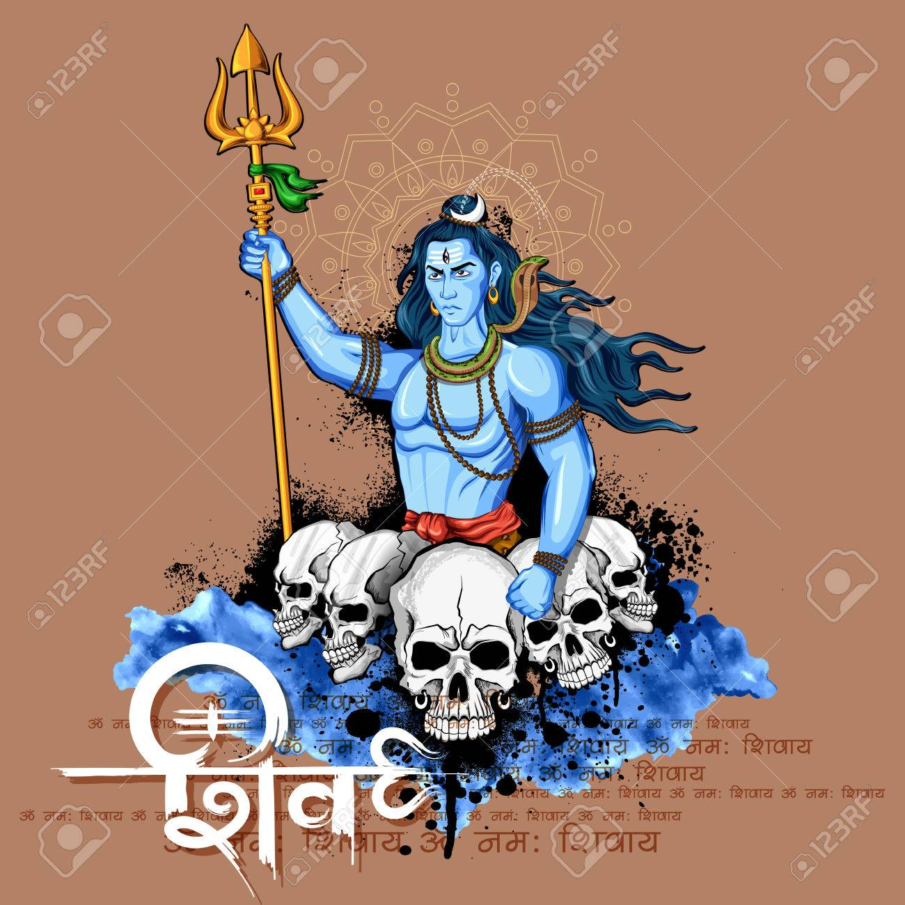Lord shiva indian god of hindu royalty free cliparts vectors and lord shiva indian god of hindu stock vector 72446350 biocorpaavc Image collections