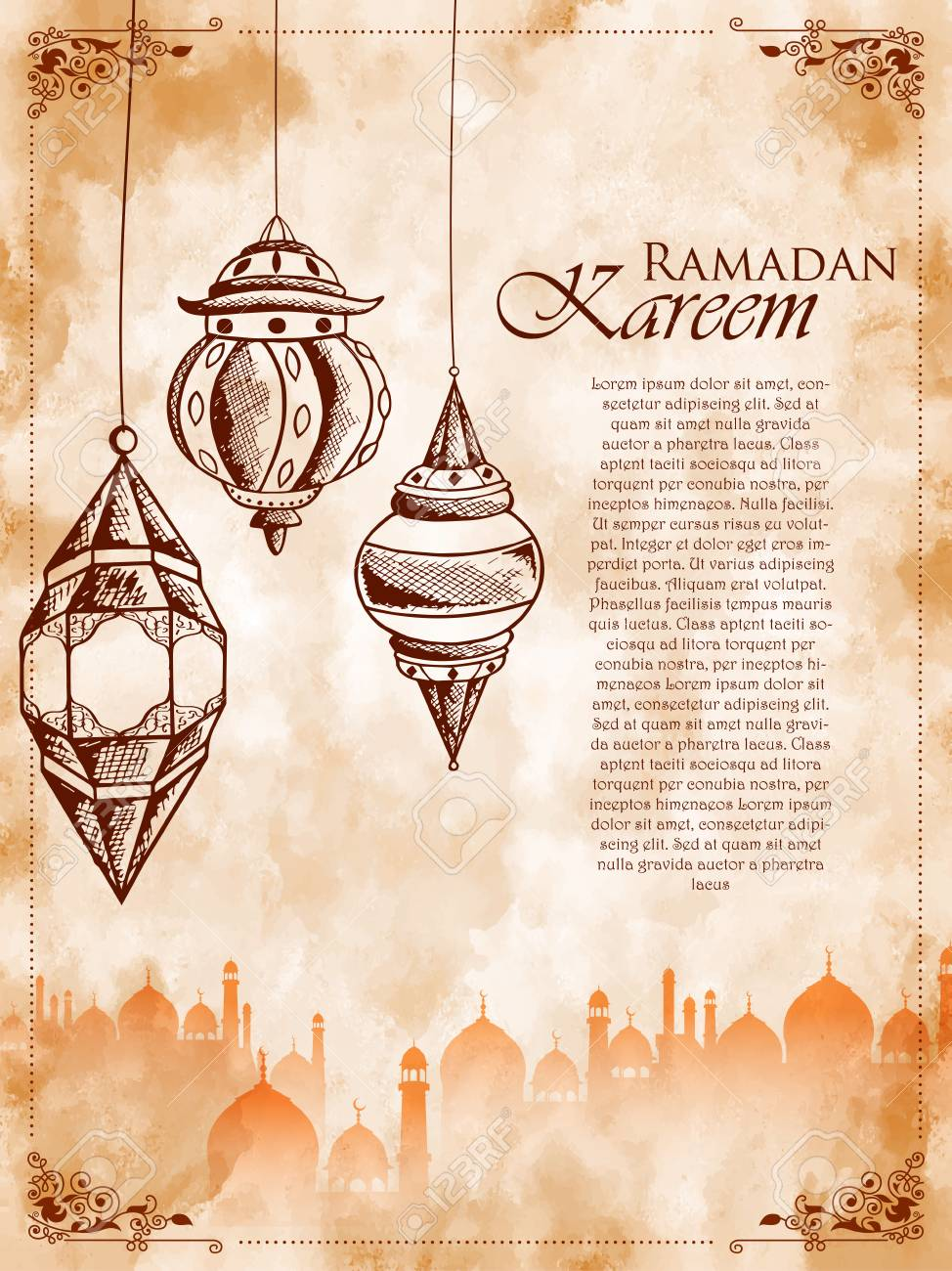 Ramadan kareem generous ramadan greetings for islam religious ramadan kareem generous ramadan greetings for islam religious festival eid on holy month of ramazan stock kristyandbryce Images