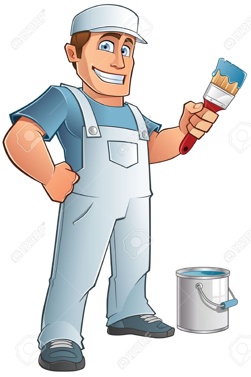 4 823 Painter Man Cliparts Stock Vector And Royalty Free Painter