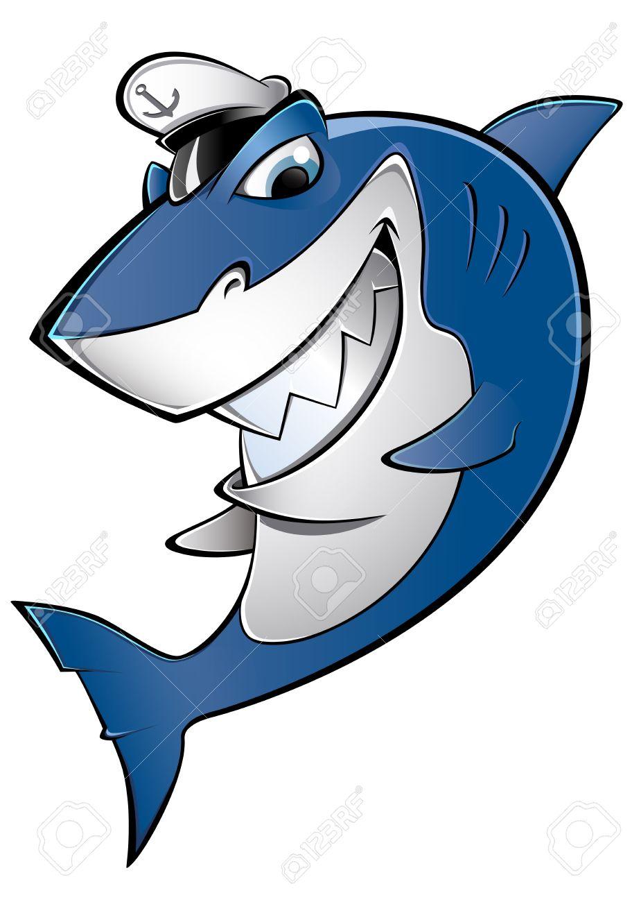 sailor shark Stock Vector - 22176139