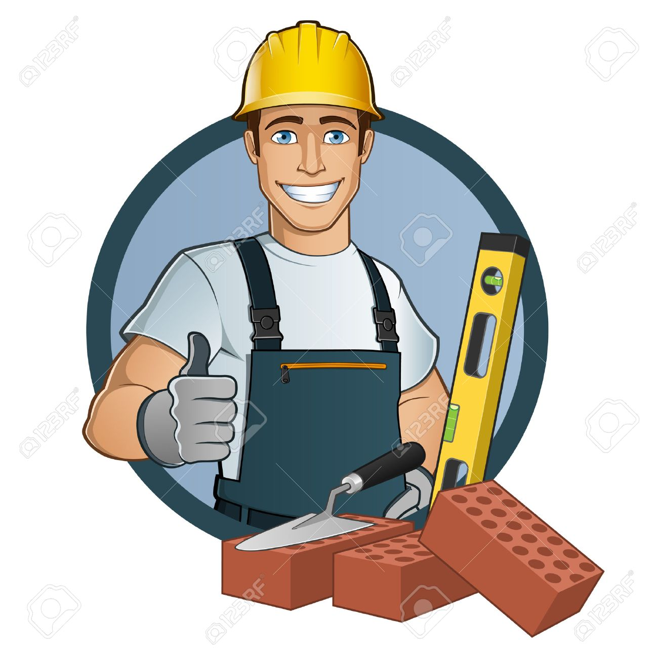 Man with different tools - 44058523
