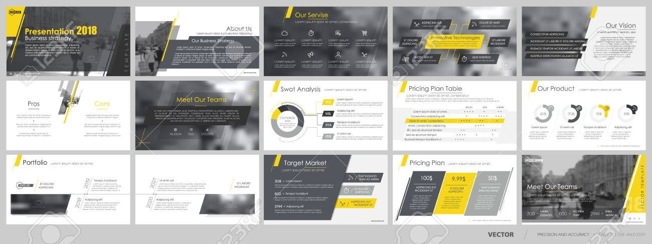 Elements for and presentation templates. - 80177954