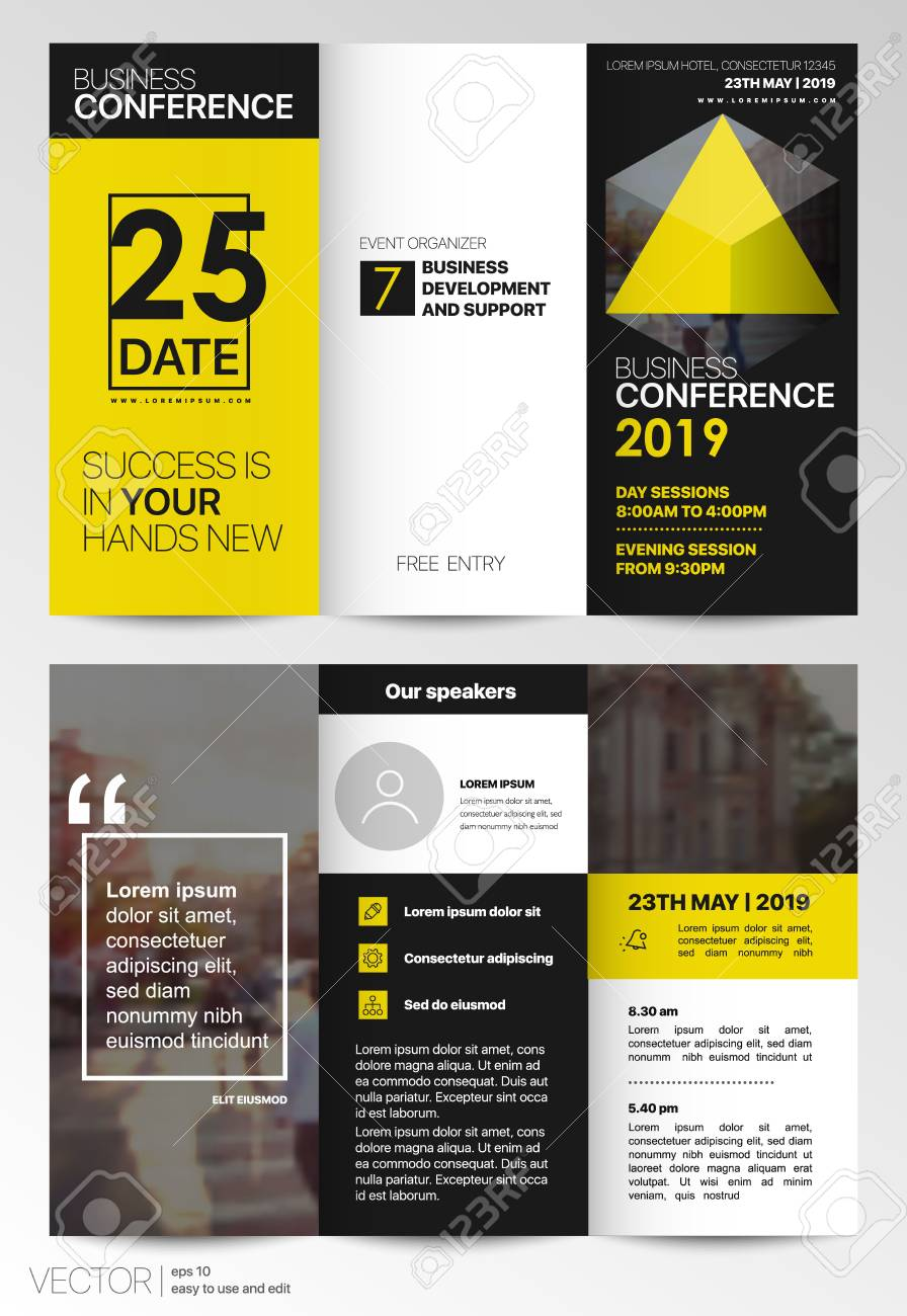 Tri fold business brochure creative corporate business template tri fold business brochure creative corporate business template for try fold brochure layout with saigontimesfo