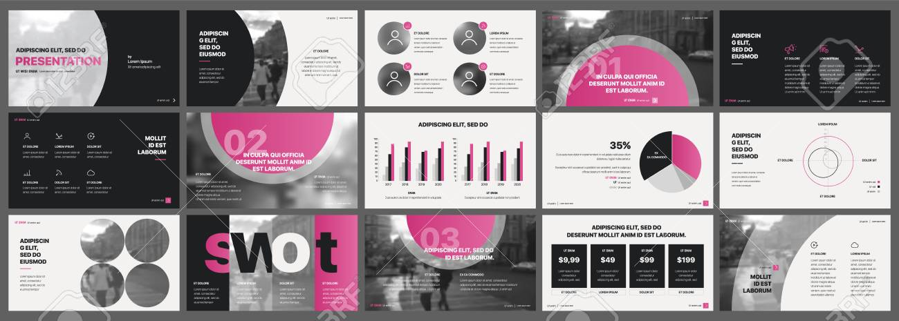 Tri Fold Business Brochure Creative Corporate Business Template