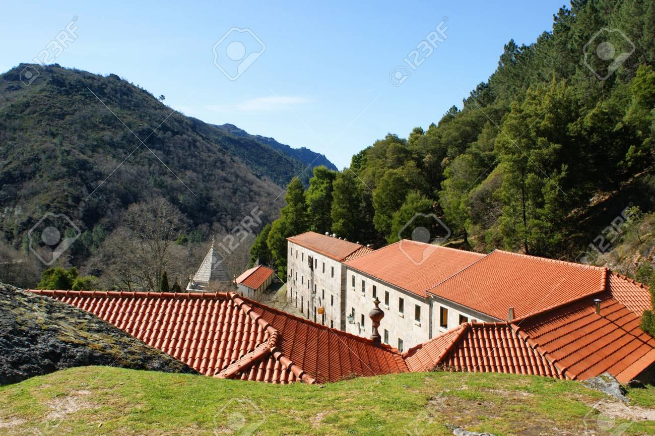Nossa Senhora da Peneda sanctuary in Portugal Stock Photo - 16429430