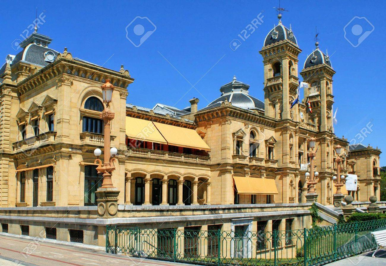 City Hall in San Sebastian  Donostia , Spain Stock Photo - 16961282