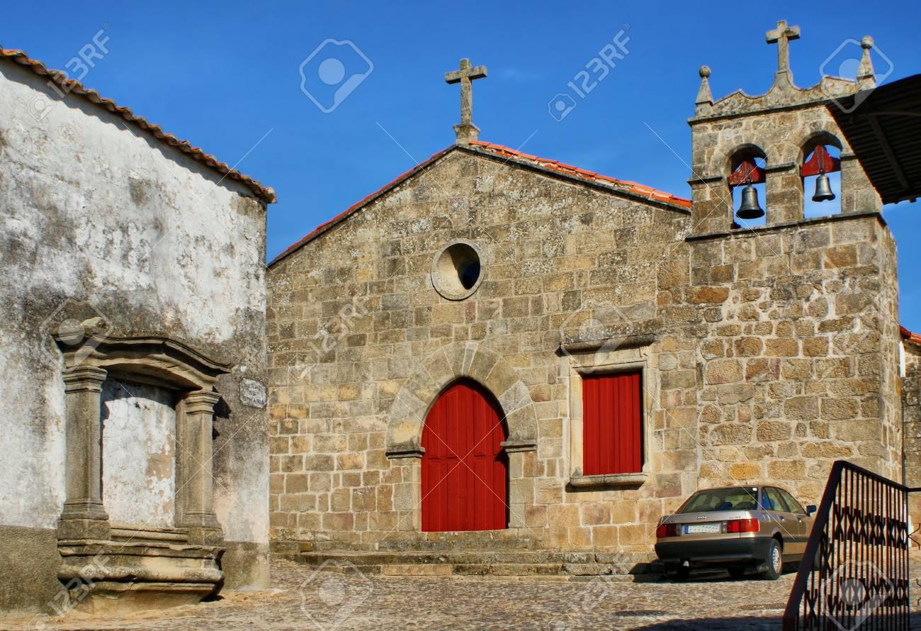 Santa Maria do Castelo church in Pinhel, Portugal - 38923384