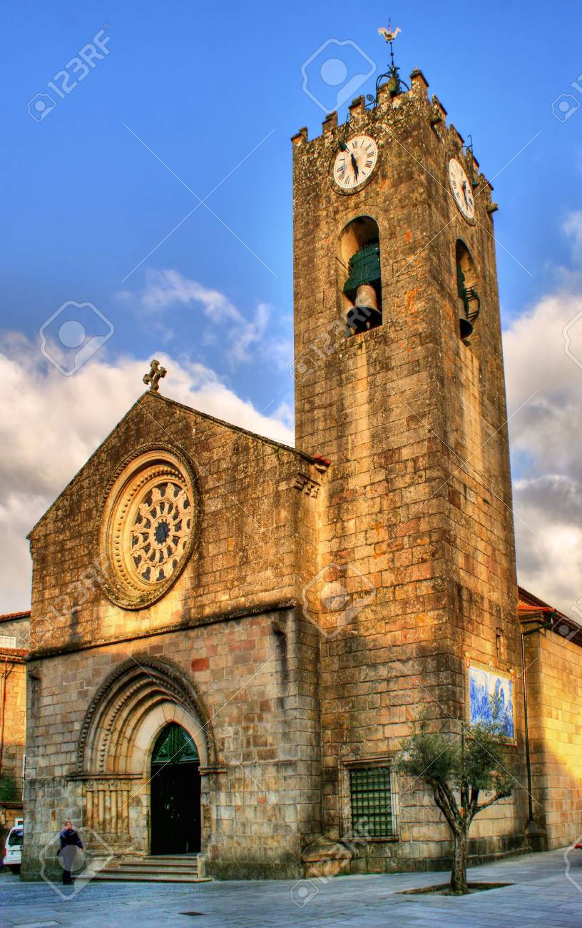 Ancient gothic church of Ponte de Lima, north of Portugal - 41976925