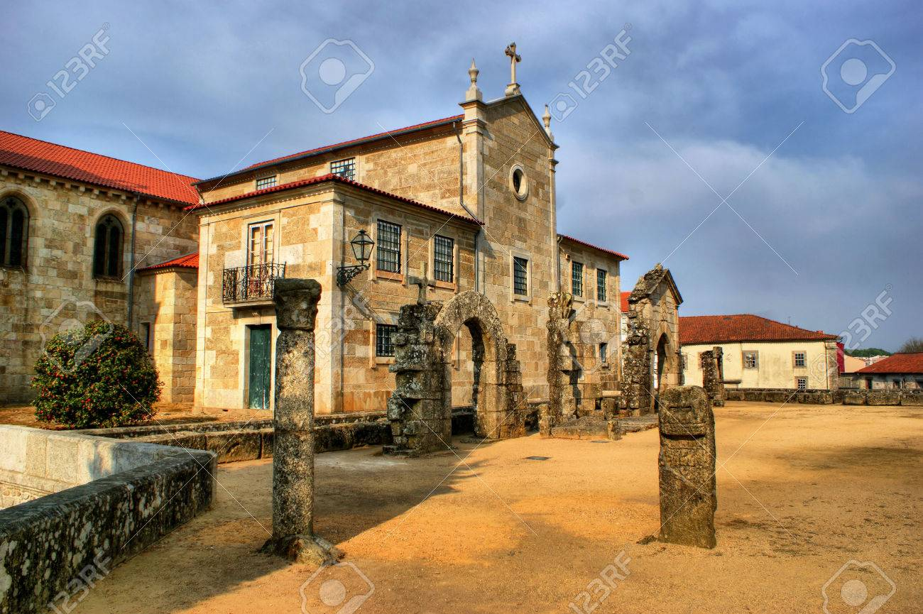 Archeological museum in Barcelos, Portugal Stock Photo - 44537074