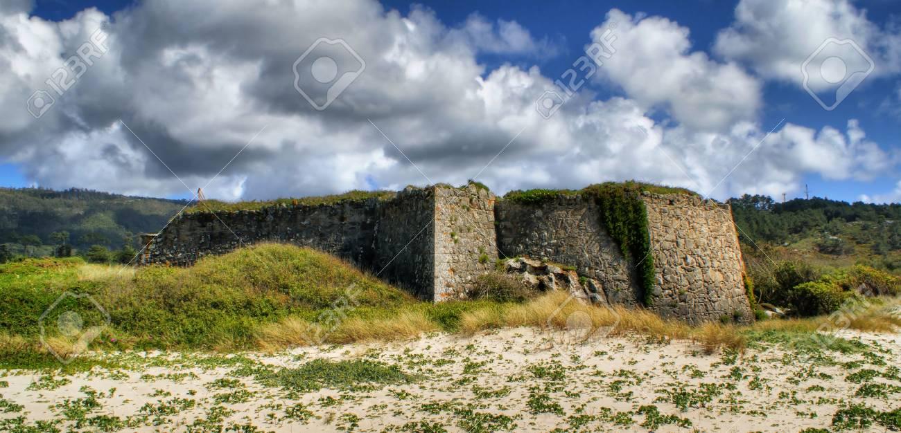 Montedor fortress in Viana do Castelo, Portugal Stock Photo - 48688288