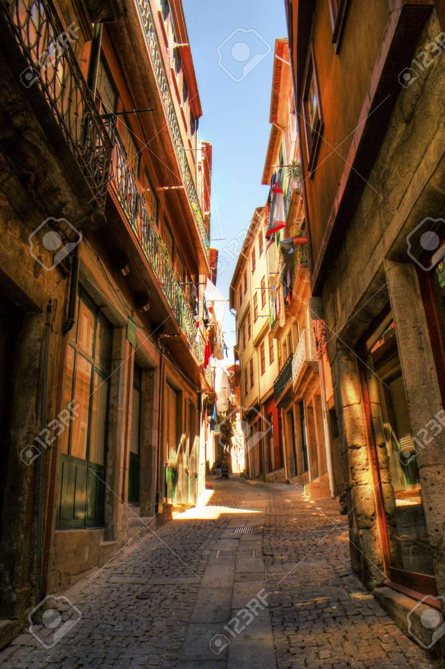 Old street in Porto, Portugal Stock Photo - 68994363