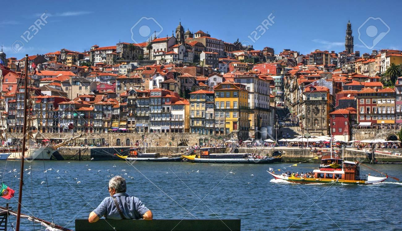 Ribeira view in Porto, Portugal Stock Photo - 68575052