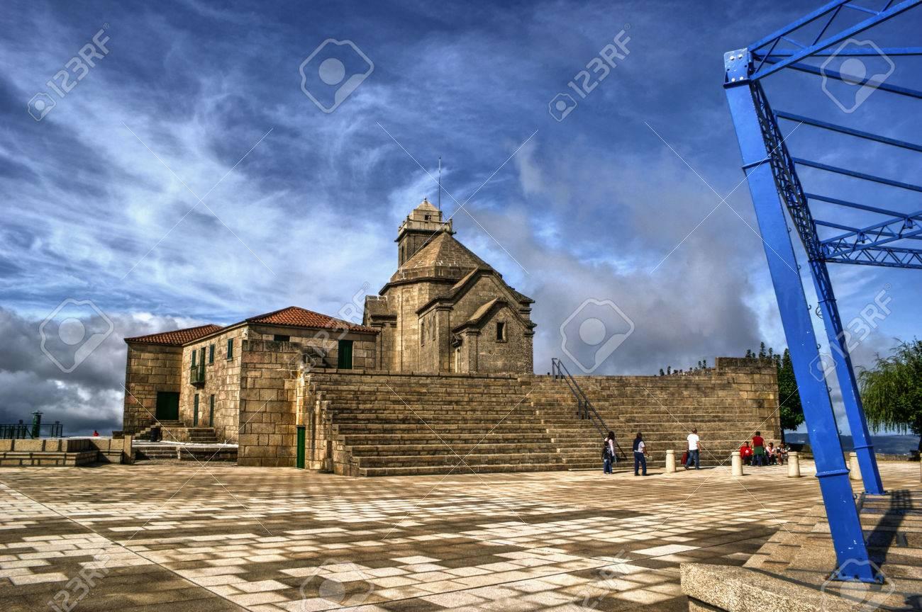 Baroque chapel of Senhora da Graca in Portugal Stock Photo - 71726399