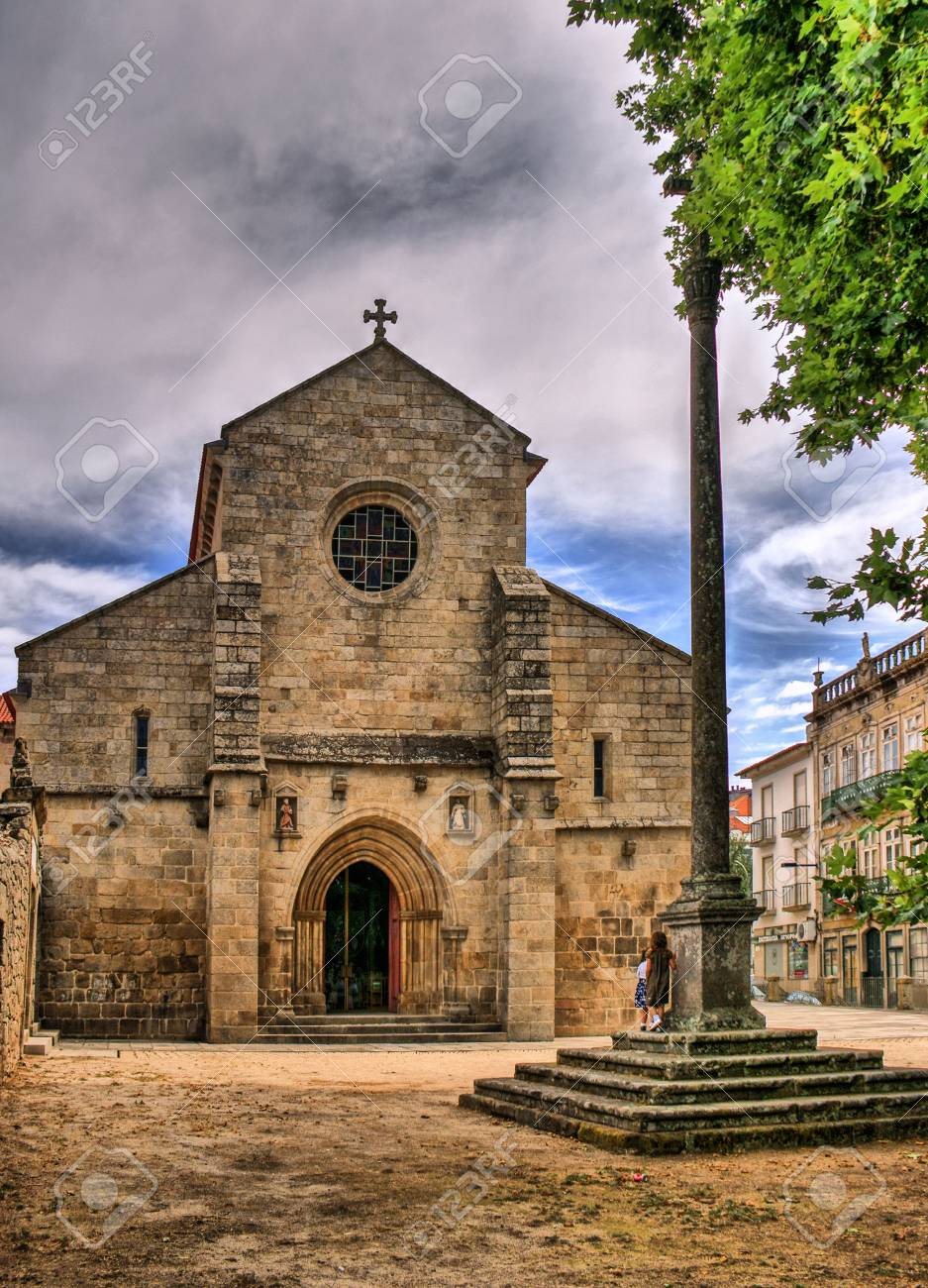 Cathedral of Vila Real, Portugal Stock Photo - 70816980