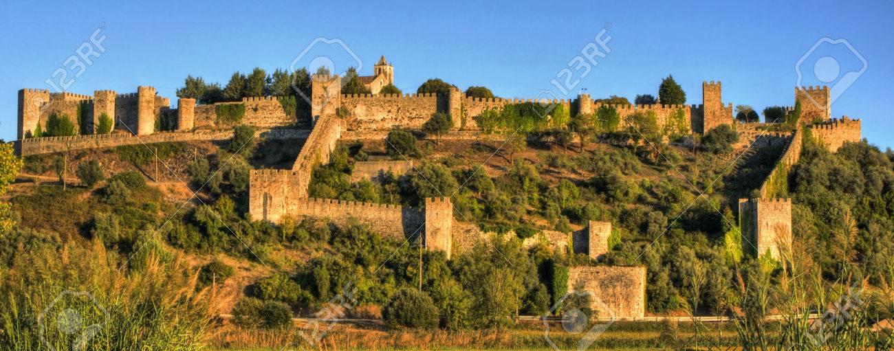 Ruined castle of Montemor-o-Velho, Portugal Stock Photo - 78334699
