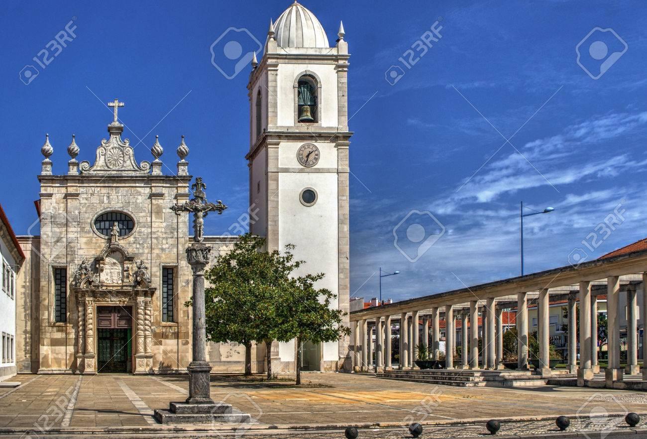 Matriz church of Aveiro, Portugal Stock Photo - 78308797