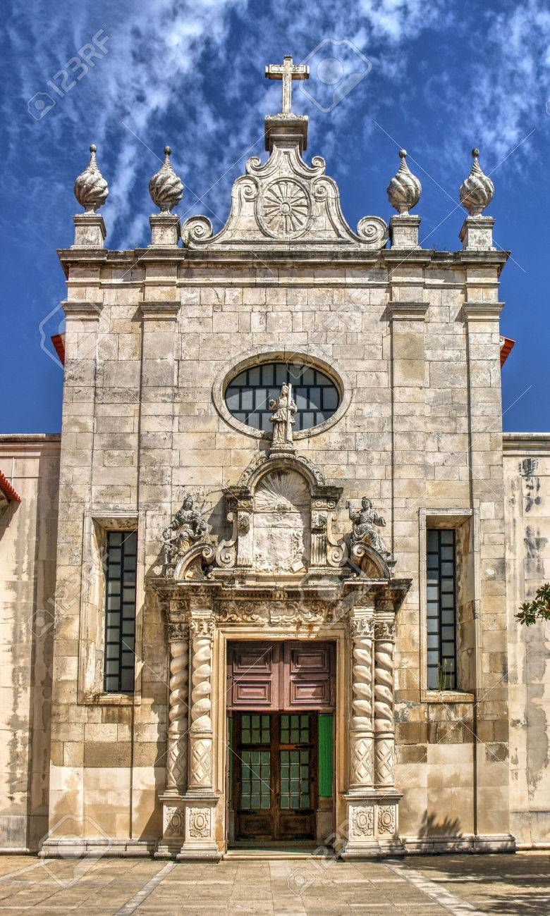Facade of matriz church of Aveiro, Portugal Stock Photo - 78334698