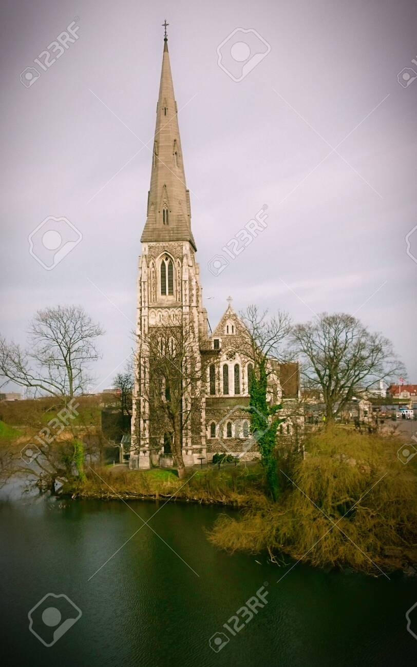 St.Alban�s church in Copenhagen, Denmark - 144772766